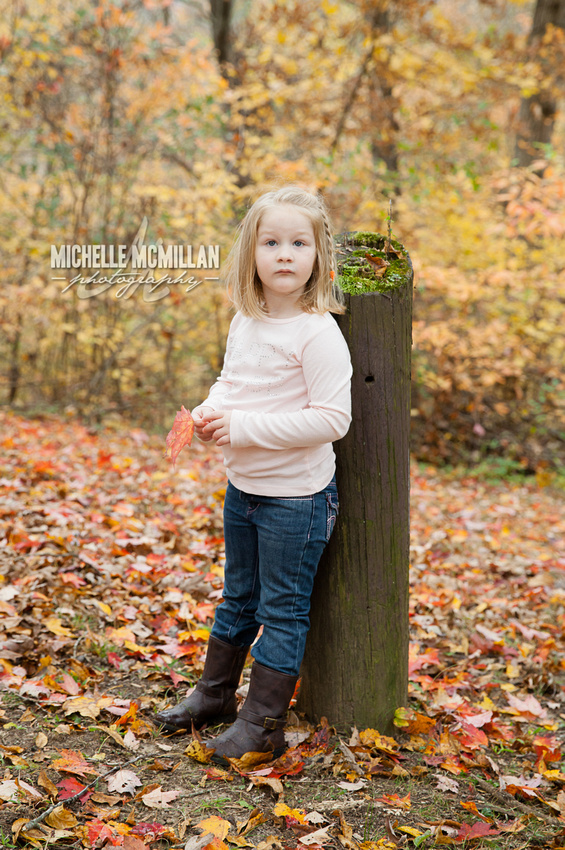 Family photo session at Beville Park